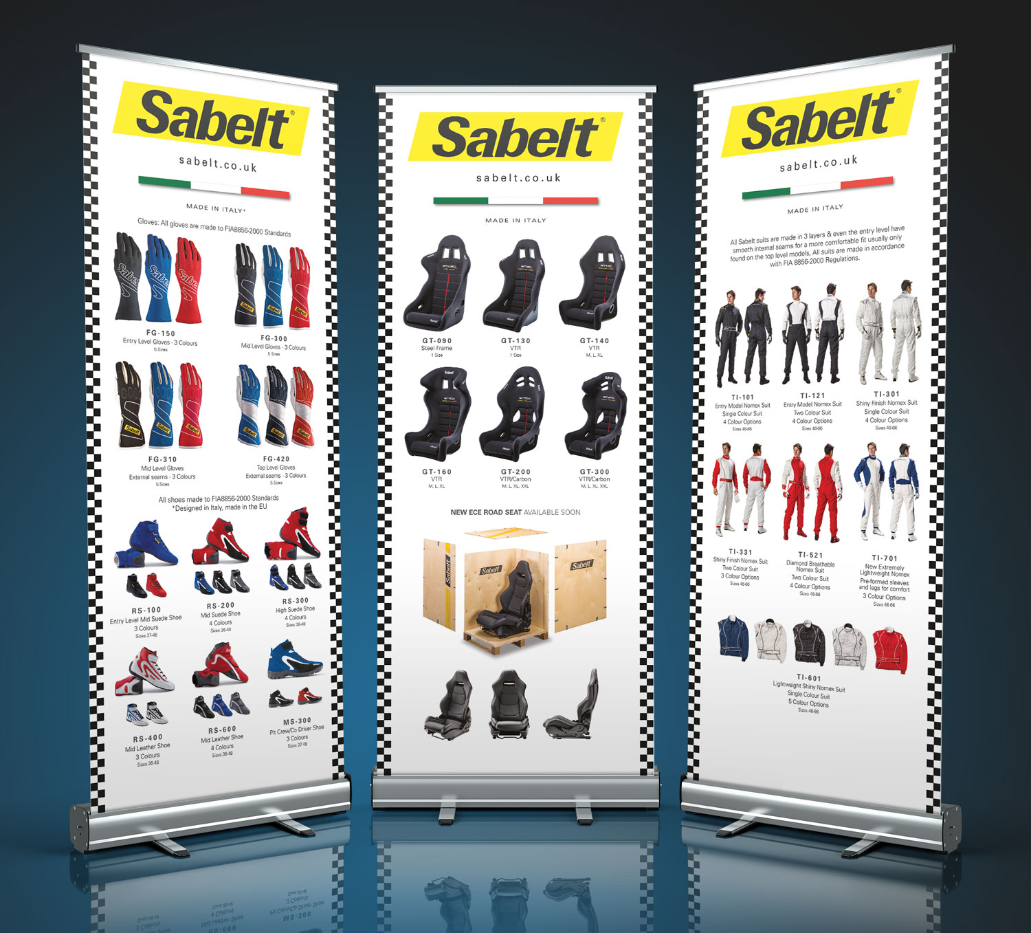 Exhibition design - Sabelt