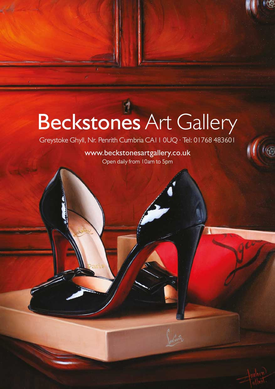 Advert design - Beckstones - Andrew Talbot shoes