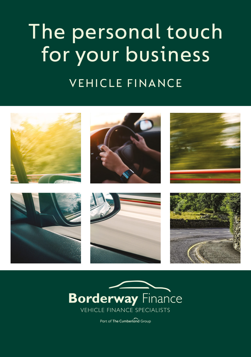 Leaflet Design - Borderway Finance