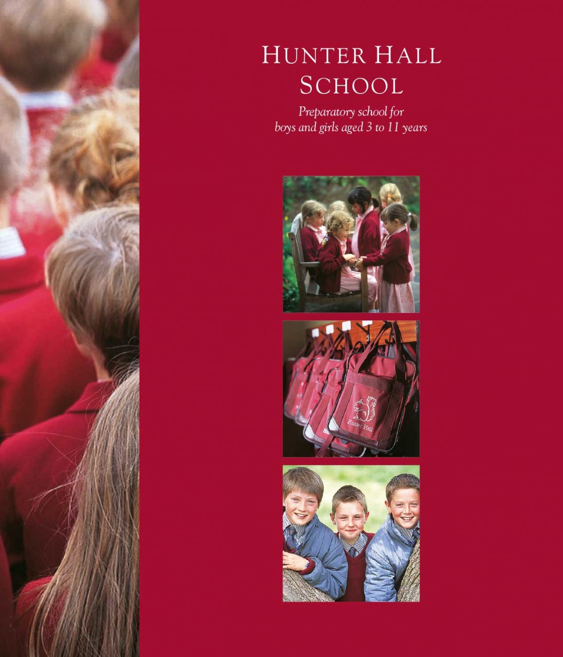 School Prospectus design - Hunter Hall