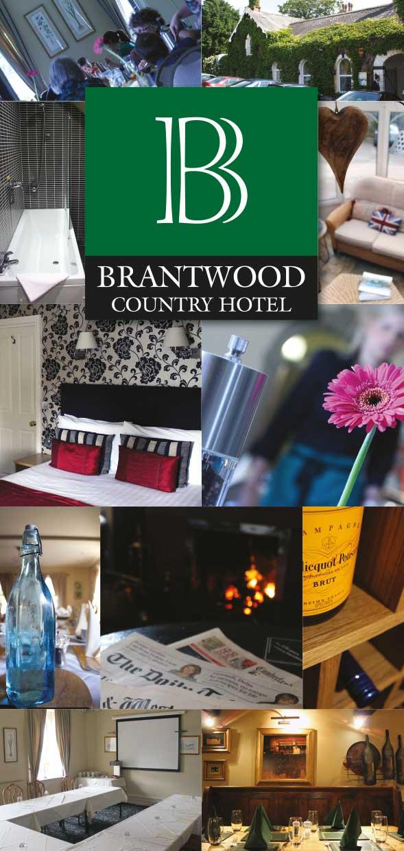Leaflet design - Brantwood Hotel