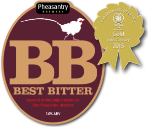 Pheasantry Best Bitter - CAMRA Champion Bitter of Britain