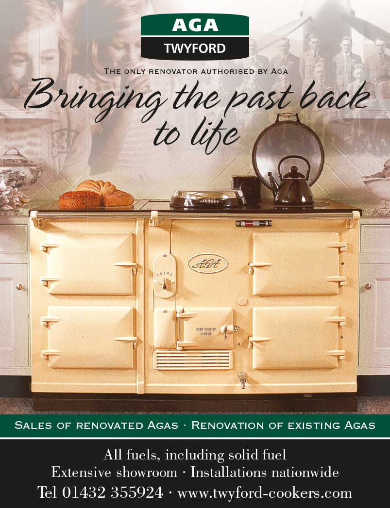 Advert design - AGA Twyford - Back to Life