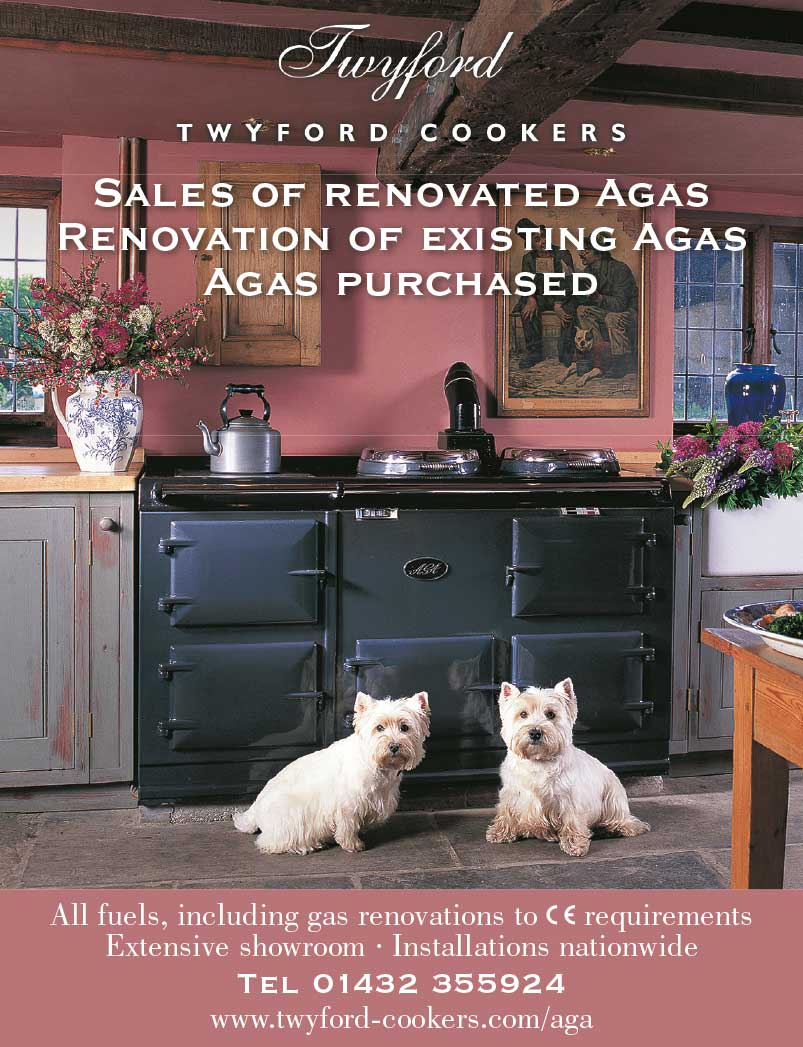 Advert design - AGA Twyford - Westies